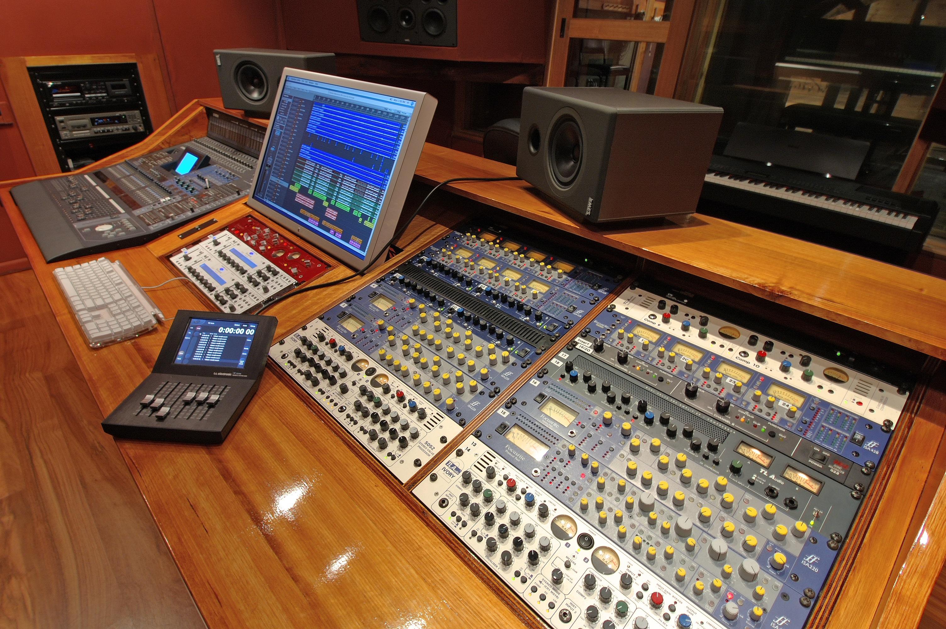 The recording studio melbourne the kool skools for Console salon