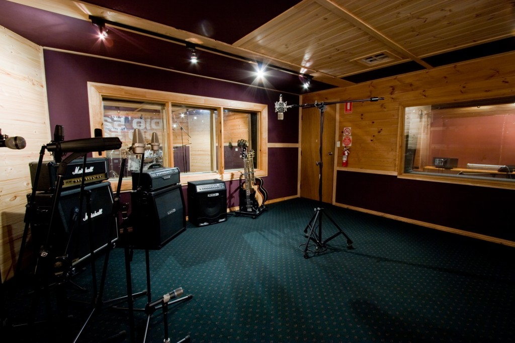 studio B recording space