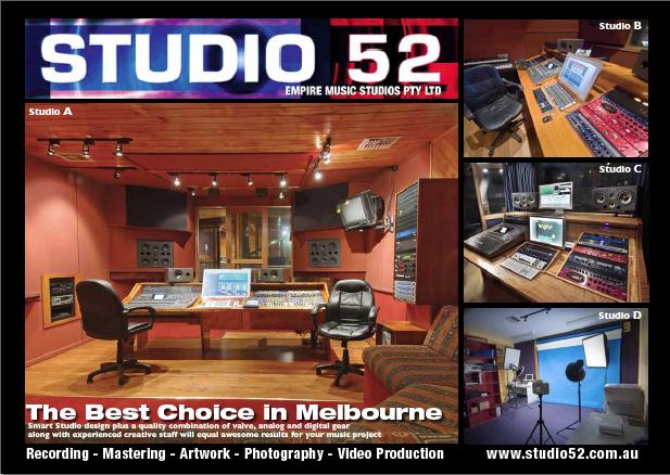 studio 52 brochure front image