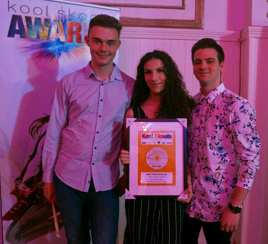 Various Kool Skools Awards winners from the 2019 Awards